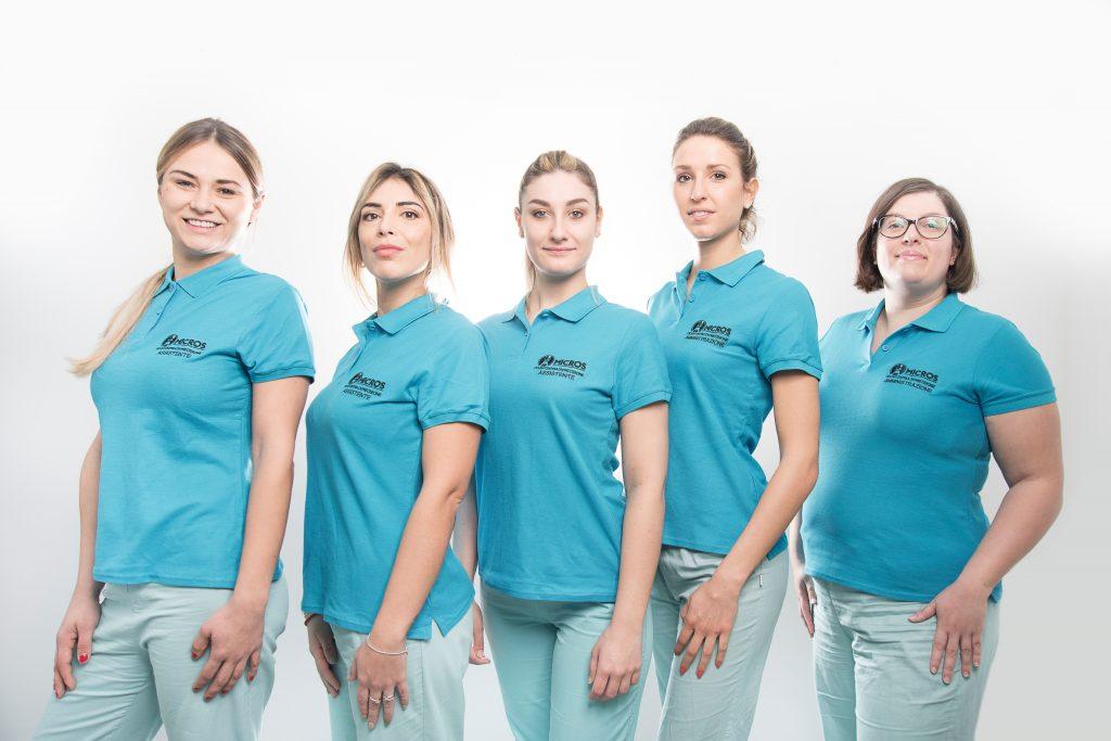 il team dello studio dentistico